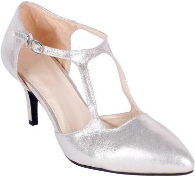 Aqua Women Gold Heels