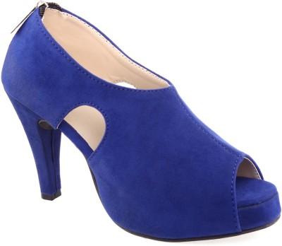 Aashka Women Blue Heels