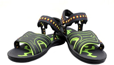 Floxtar Men Grey, Green Sandals