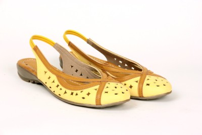 Twee Broer Women Yellow Flats