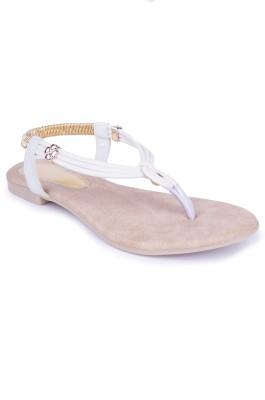 Starchi Women White Flats