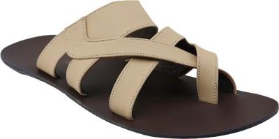 Shoe Bazar Men Beige Sandals
