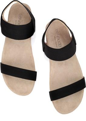 Tresmode Jescool-1 Women Black, Beige, White Flats