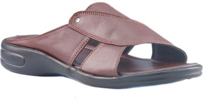 Dolphin Miles Stylish Slip-on Men Brown Sandals
