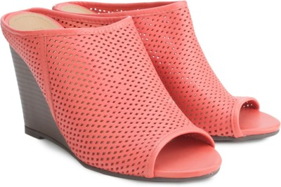 Kenneth Cole Women Pink Wedges