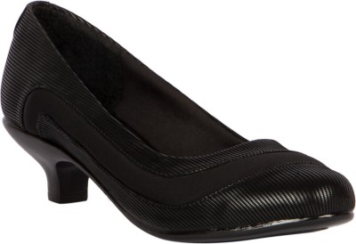 Gomore Women Black Heels
