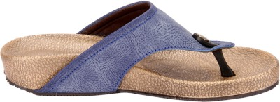 Awssm Women Blue Flats