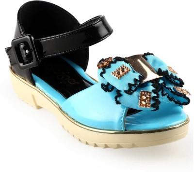 CHIMPS Girls Blue Sandals