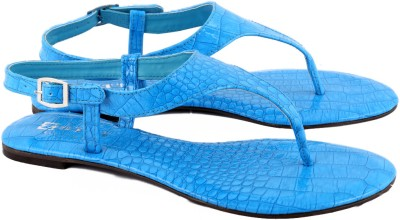 Zotti Croco Women Blue Flats
