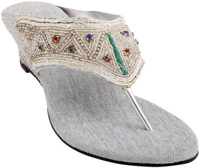 GLAMWALK Women Silver Heels