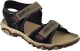 Elvace Men 413,Black Sandals