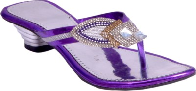 Skyler Women Purple Heels