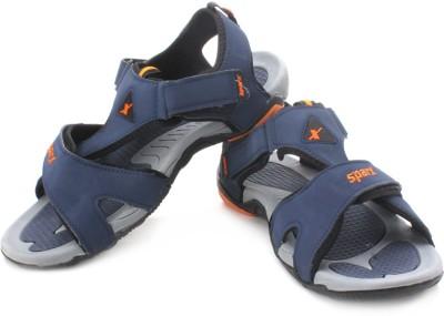 Sparx Men Orange, Blue Sports Sandals