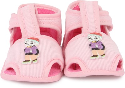 Instabuyz Baby Boys Pink Sandals