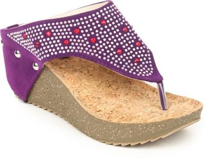 Pede Milan Women Purple Wedges