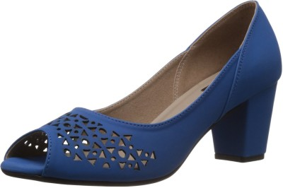 Kally Jessie Women Blue Heels