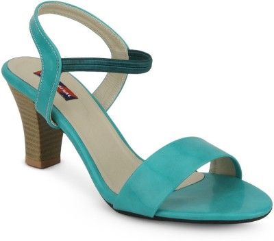 American Swan Women Green Heels