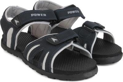 Power Men Black, Navy Sandals