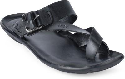 Foot n Style Men Black Sandals