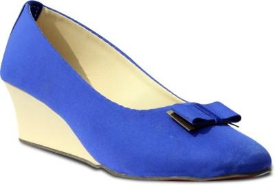 Indilego Women Blue Wedges