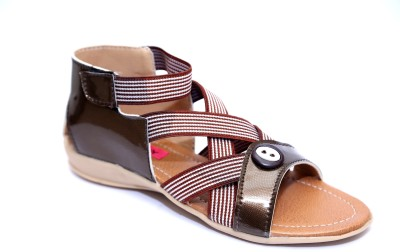 Roony Women Brown Flats