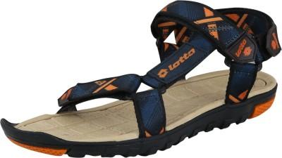 Lotto Men Navy, Orange Sandals