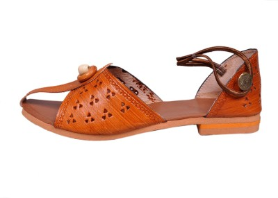 Jaipuriyaa Women Brown Heels