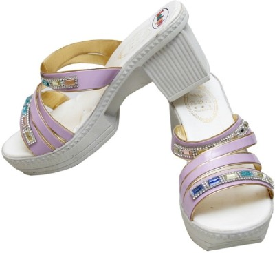 Gadget Women Purple Heels