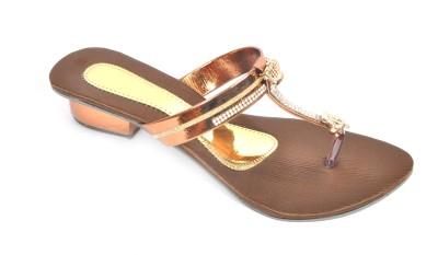 FASHBEAT Women Brown Heels