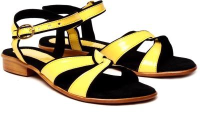 Nell Women Yellow Flats