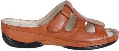 Action Shoes Women Tan Flats