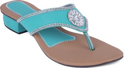 Ridhi Sidhi Women Blue Heels
