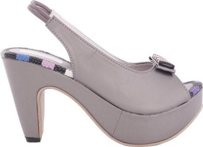 Modin Women Grey Heels