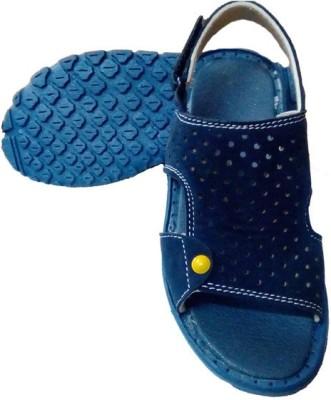 Y & J Girls, Boys Blue Sandals