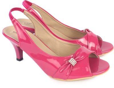 Urban Woods Pink Women Pink Heels