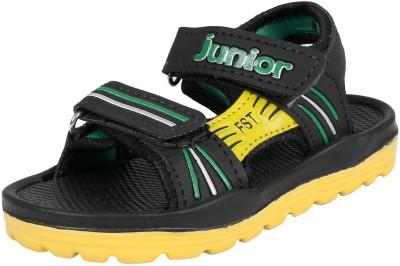 Frestol Baby Boys Black, Yellow Sandals