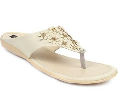 Cute Feet Women Beige Flats