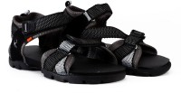 Sparx Men Black Grey Sports Sandals