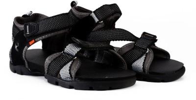 Sparx Men Grey, Black Sandals