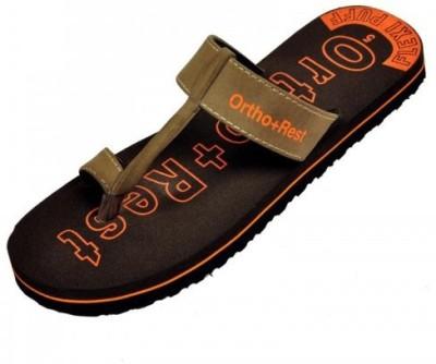 Ortho + Rest Women Brown, Orange Flats