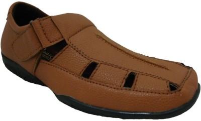 Senso Vegetarian Brown Comfort Men Beige Sandals