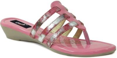 GISOLE Women Pink Wedges