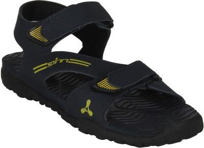 Spinn Men Navy Sandals