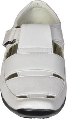 Gripwell Men White Sandals