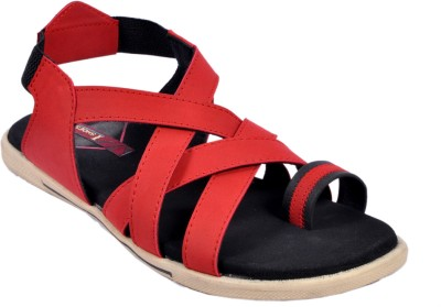 IShoes Men Red Sandals