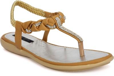 Funku Fashion Women Beige, Beige Flats
