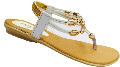 Recent Collection Women White Flats