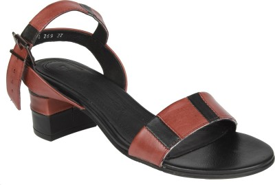 Salt N Pepper Women Red Heels