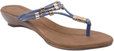 Chicopee Women Blue Wedges