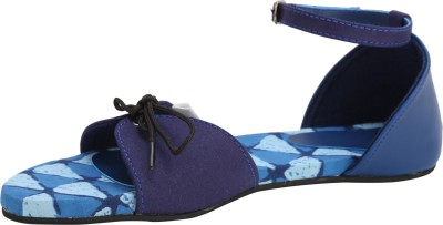 Paaduks Women, Girls Navy, Blue Flats